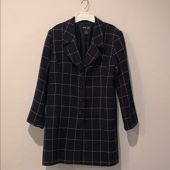 Style & Co Jackets & Blazers - Style and Co. Charcoal jacket!